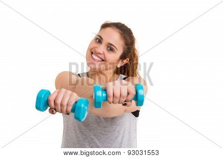 Fitness Concept - Large Woman