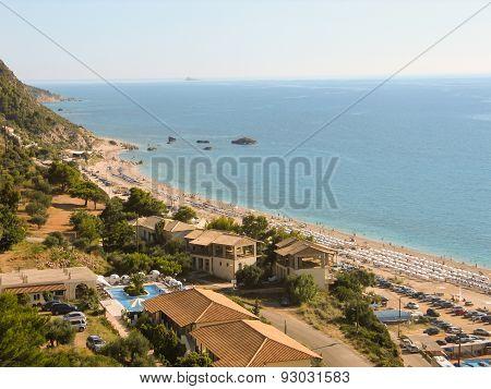 Beautiful beach in Lefkada