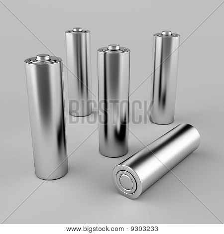 Silver Aa Batteries