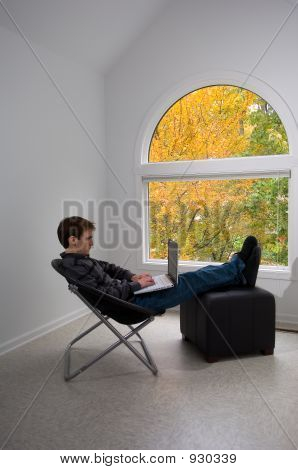Relaxing With A Computer