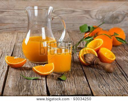 Freshly Pressed Orange Juice