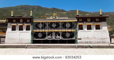 Tongren Monastery Or Longwu Monastery