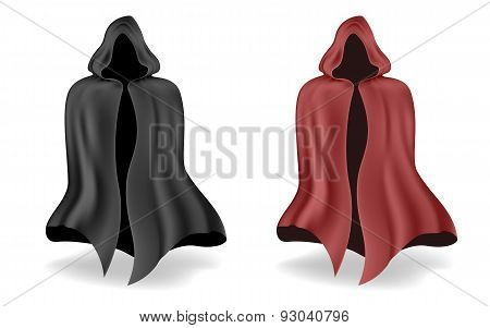 Black And Red Magic Mantle