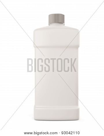 Bottle With Detergent Front View