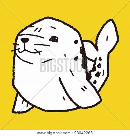 Seal Doodle