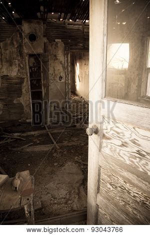 Entering The Abandoned Room