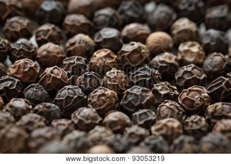 Peppercorns Closeup