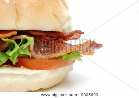Cirspy Bacon Burger