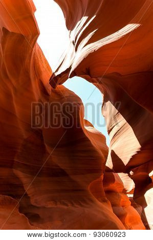 The Eagle At Lower Antelope Canyon