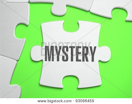 Mystery - Jigsaw Puzzle with Missing Pieces.