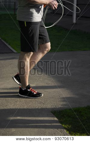 Man With A Skipping Rope