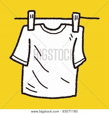 Clothesline Doodle