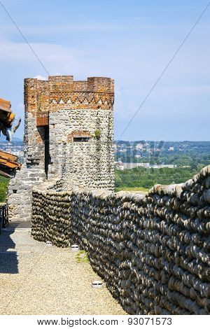 medieval fortress. Color image