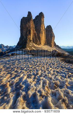 Tre Cime. Dolomite Alps, Italy