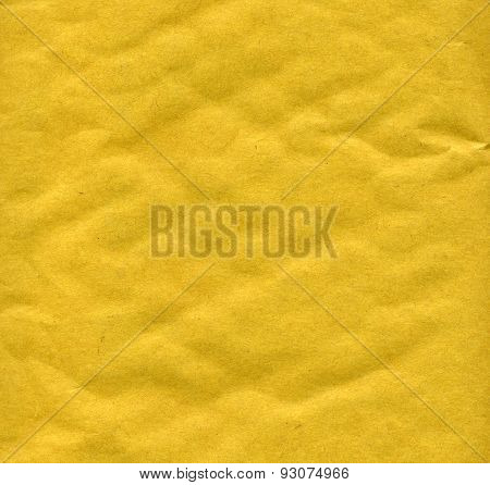Yellowish Paper Sheet