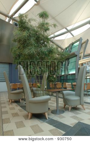 Interior Design Of Food Court Area