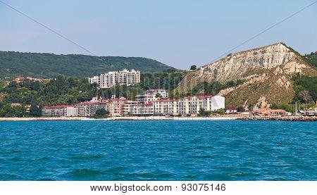 Summer Landscape Of Balchik Resort Town, Bulgaria