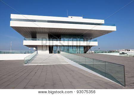 Americas Cup Building In Valencia