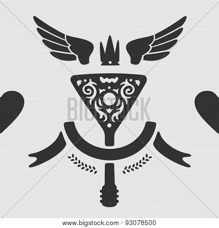 Vector Symbol Balalaika