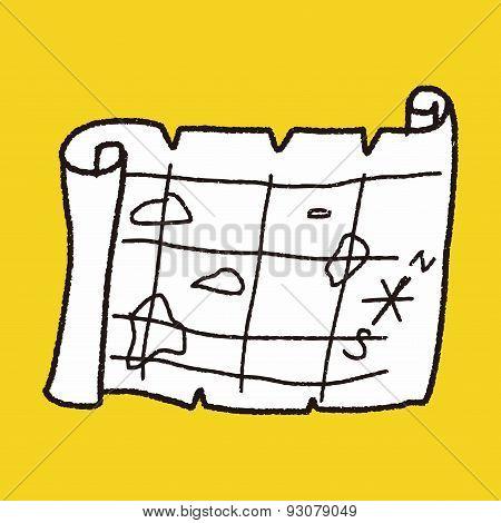 Treasure Map Doodle