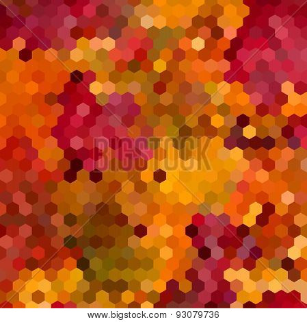 Abstract Colorful Honeycomb Background Design