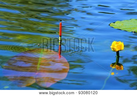 Fishing Float In The Lake