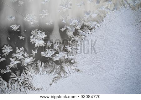 Frosty Window Glass