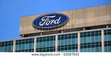 Ford Headquarters Logo