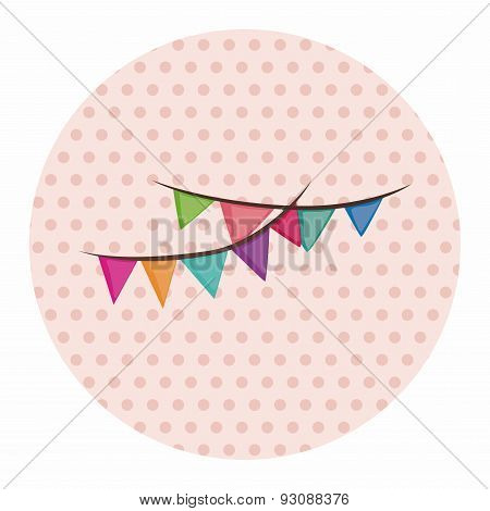 Birthday Ribbon Theme Elements