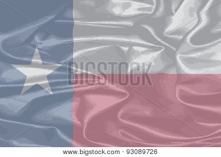 Texas Silk Flag