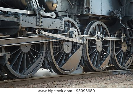 Steam Locomotive Rolling