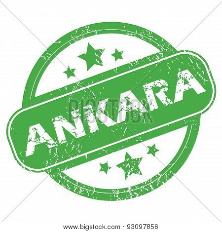 Ankara green stamp