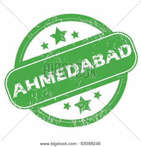 Ahmedabad green stamp