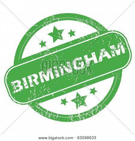 Birmingham green stamp