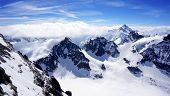 picture of tit  - scenery of Valley Titlis snow mountains Engelberg Switzerland - JPG