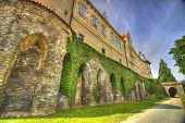 picture of centenarian  - �leby castle in the Czech Republic in the HDR version ** Note: Visible grain at 100%, best at smaller sizes - JPG