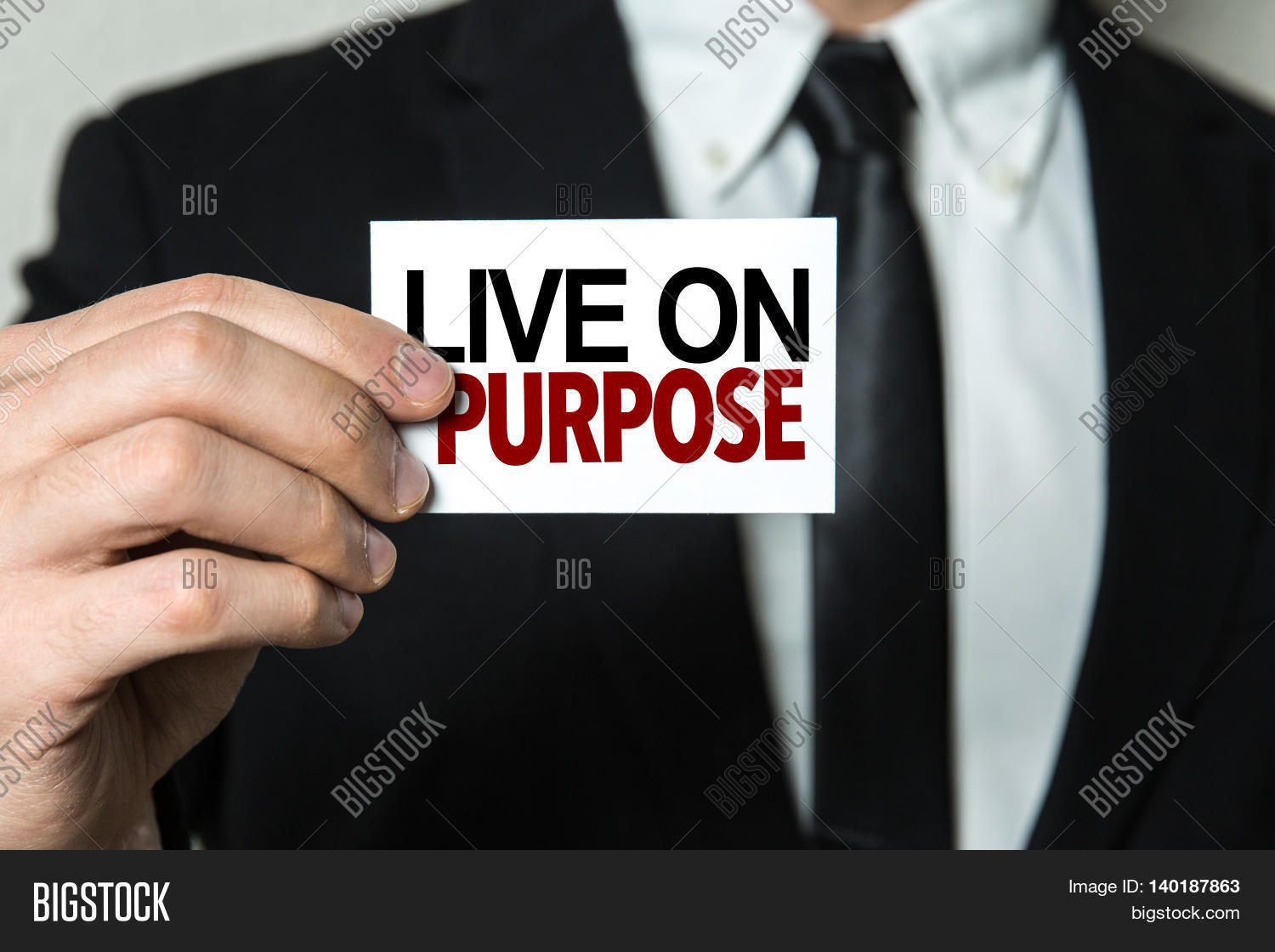 Live on Purpose Stock Photo & Stock Images | Bigstock