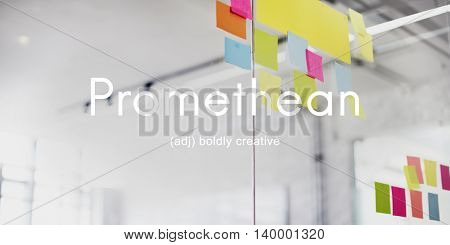 Promethean Creative Ideas Wisdom Intelligent Concept
