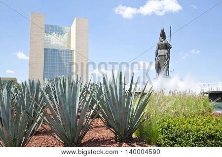 La Minerva Monuments of Guadalajara Jalisco Mexico