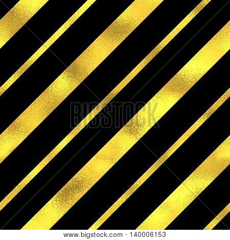 Abstract Vector Seamless Pattern With Gold Stripes