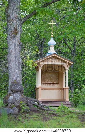 Valaam. An icon chapel