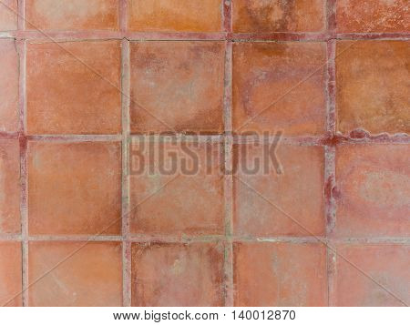 Brown tiling wall background brown floor tiles