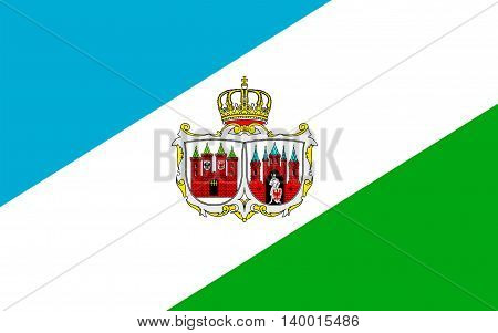 Flag of Brandenburg an der Havel is a town in the state of Brandenburg in Germany