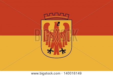 Flag of Potsdam is the capital city of the German federal state of Brandenburg