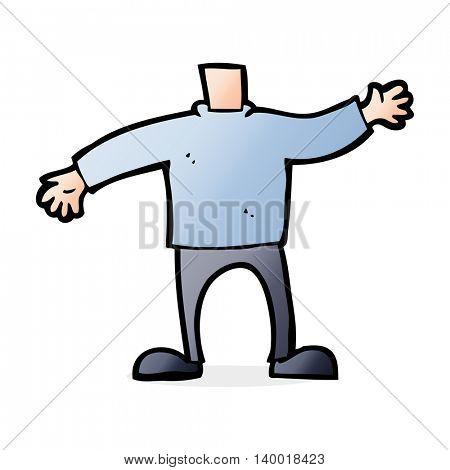 cartoon body waving arms (mix and match cartoons or add own photos)