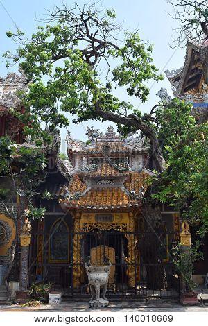Chau Thoi temple in Binh Duong province Vietnam