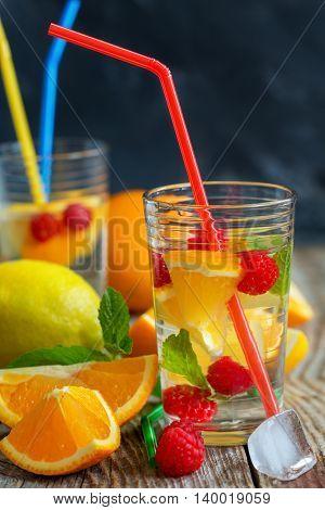 Summer Fruit Refreshments.