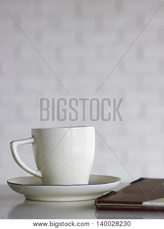 cup of coffee with depth of field