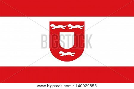 Flag of Wesel is a city in North Rhine-Westphalia Germany