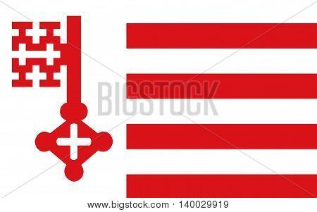Flag of Soest is a city in North Rhine-Westphalia Germany